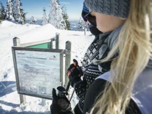 Schneeschuhwandern am Großen Arber