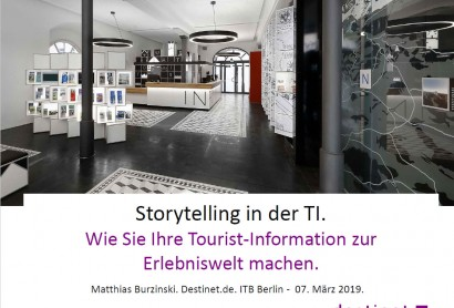Storytelling in der Tourist-Info