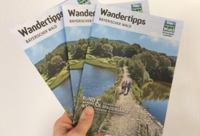Druckfrisch erschienen: Wandertipps Bayerischer Wald