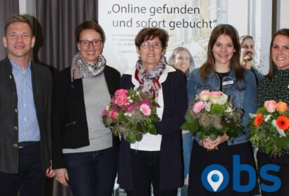 OBS informiert Bad Griesbacher Privatvermieter über die Vorteile der Onlinebuchung