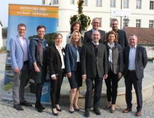 Gruppenbild zum Tourismustag Bayerischer Jura