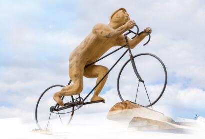 Einweihung Bezwinger-Skulptur und Saisoneröffnung Trans Bayerwald