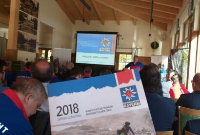 Jahrespressekonferenz der Bergwacht Region Bayerwald