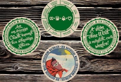 Ab sofort können Sie unsere originellen Bierdeckel bestellen!