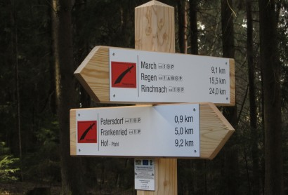 Der Wanderweg Pandurensteig ist neu beschildert!