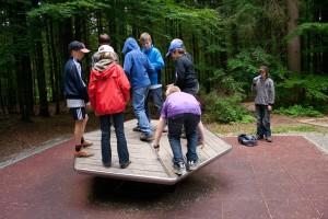 Abenteuer im Waldspielgelände
