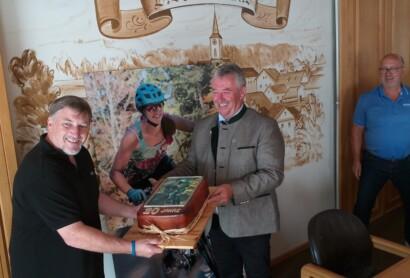 Festakt 20 Jahre Bikepark Geisskopf in Bischofsmais