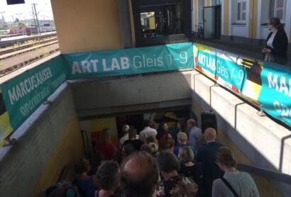 donumenta 14: ART LAB Gleis 1-9 eröffnet