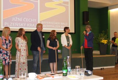 Feierliche Abschlusskonferenz des Goldsteig-Interreg-Projekts in Tschechien