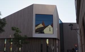 das sogenannte Domfenster im Museum der Bayerischen Geschichte
