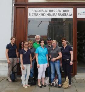 Das Team der Tourist-Info Lamer Winkel