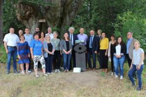 Vorstellung des Projekts Natur-Navi im Oberpfälzer Wald
