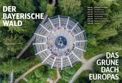 """Der Bayerische Wald im Magazin """"wd"""""""