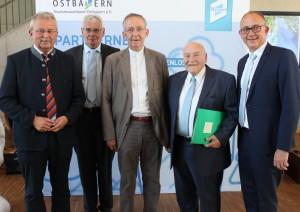 Ehrenmitglieder des Tourismusverbandes Ostbayern