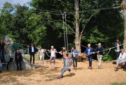 Viel bewegt: Niederbayern feiert 33 Fitness-Studios im Freien