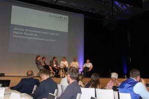 """Podiumsdiskussion Fachkonferenz """"Tourismus digital"""""""