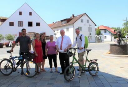 Auf der Niederbayerntour von Landshut bis nach Landau an der Isar