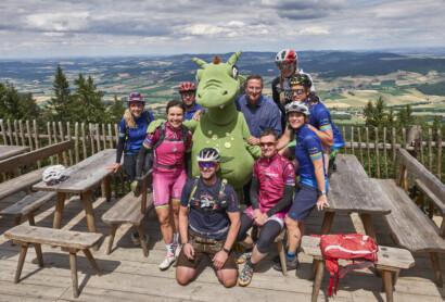 Mit Sabine Spitz auf der Trans Bayerwald von Lam bis Furth im Wald