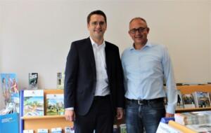 MdEP Christian Doleschal (links) zu Gast beim TVO