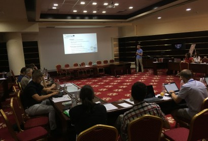 Drittes Partnertreffen im Rahmen des EcoVeloTour-Projekts in Tulcea, Rumänien