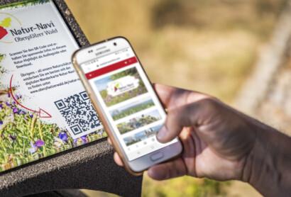 "Per ""Natur-Navi"" durch den Oberpfälzer Wald: digitales Naturprojekt für Wanderer geht online"