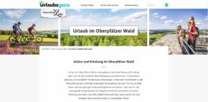 Der Oberpfälzer Wald auf urlaubsguru.de