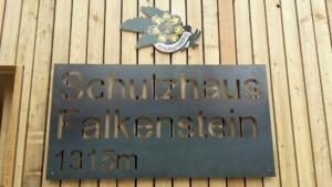 Türschild Falkenstein Schutzhaus