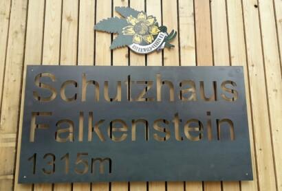 Das Falkenstein-Schutzhaus ist eröffnet