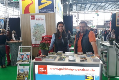 Der Goldsteig mit den Top Trails of Germany auf der Tour Natur in Düsseldorf