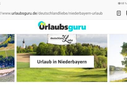 Das Bayerische Golf- und Thermenland auf urlaubsguru.de