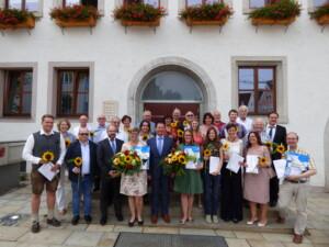 Zertifikatsübergabe der neuen Gästeführer der Stadt Neumarkt