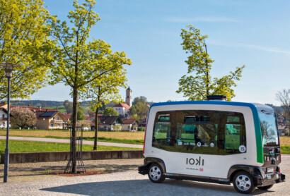 Deutschlands erste selbstfahrende Buslinie in Bad Birnbach