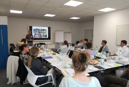 1. Workshop im Rahmen des EcoVeloTour-Projekts