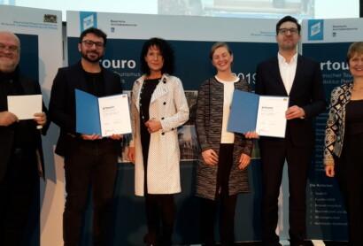 Bayerischer Tourismus Architekturpreis artouro 2019 verliehen