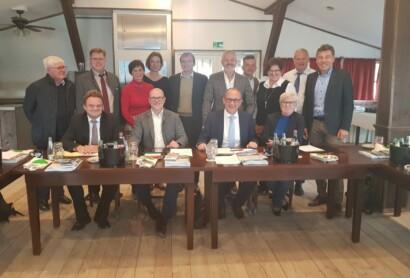 Sitzung des Lenkungsgremium Bayerischer Wald in Pullman City