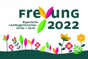 Logo der Landesgartenschau Freyun 2022