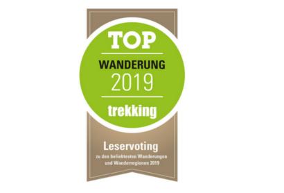 Bitte um Abstimmung für den Trekking-Award 2019: Goldsteig und Oberpfälzer Wald sind nominiert