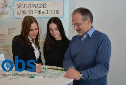 Die OBS berät Gastgeber in Lindberg zur Onlinebuchung