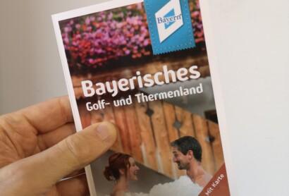 Die neue Freizeitkarte Bayerisches Golf- und Thermenland ist da!
