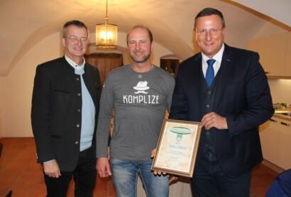 """Robert Mückl – Touristiker des Jahres 2019 im """"Bayerischen Wald ganz oben"""""""