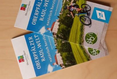 Neu: Übersichtskarte Oberpfälzer Radl-Welt