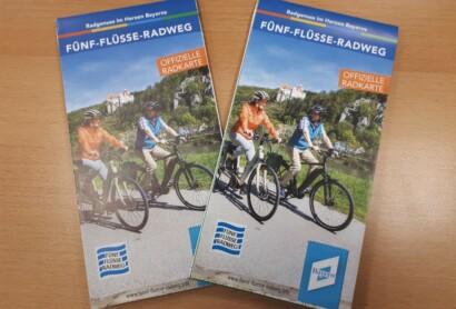 Neu: Radkarte Fünf-Flüsse-Radweg
