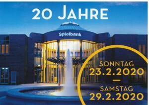 20 Jahre Spielbank Bad Kötzting