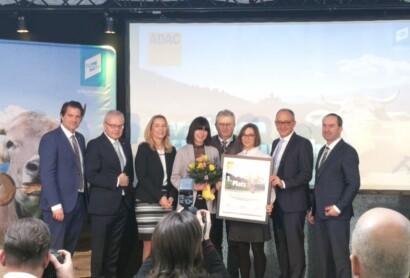 Tourismusverband Ostbayern belegt 3.Platz beim ADAC Tourismuspreis Bayern 2020