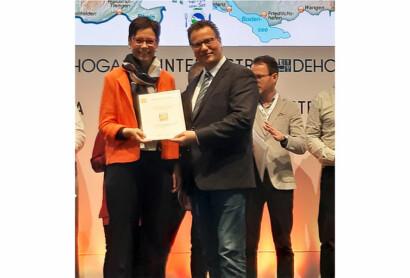 Auszeichnung für Goldsteig-Ge(h)nuss-Partner