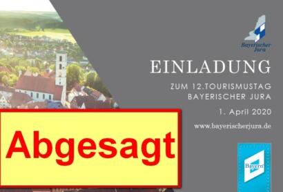 12. Tourismustag Bayerischer Jura – ABGESAGT