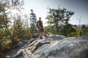 Nationalparkrangerin im ätesten Nationalpark Deutschlands, im Nationalpark Bayerischer Wald