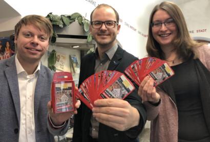 Karten-Quartett über Sehenswürdigkeiten in und um Neumarkt vorgestellt