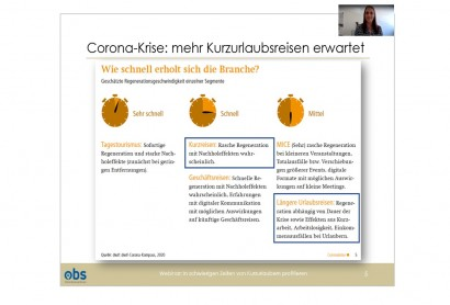 OBS Webinar: In schwierigen Zeiten von Kurzurlaubern profitieren