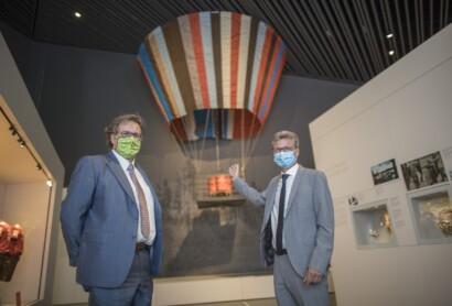 Der Ballon steigt im Museum der Bayerischen Geschichte